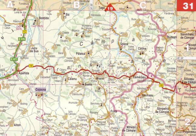Maps Road maps atlases Romania