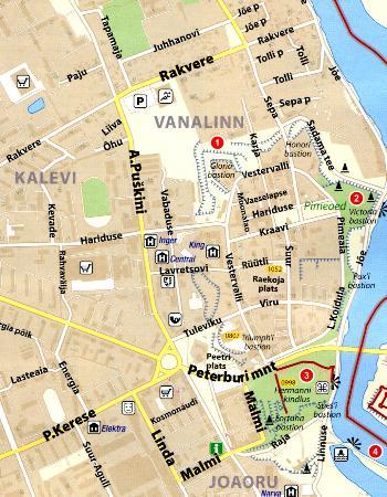 Maps City maps atlases Narva Narva Jesuu