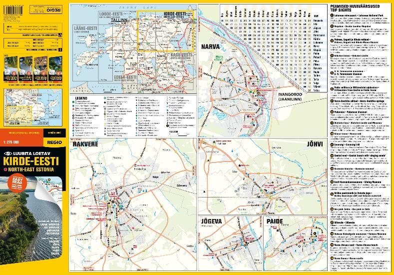 Maps Tourism maps KirdeEesti