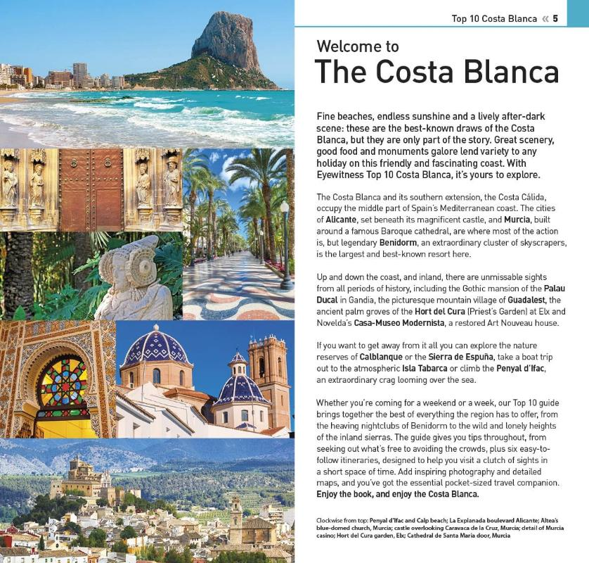 Guides - Tourist guides - Costa Blanca TOP 10