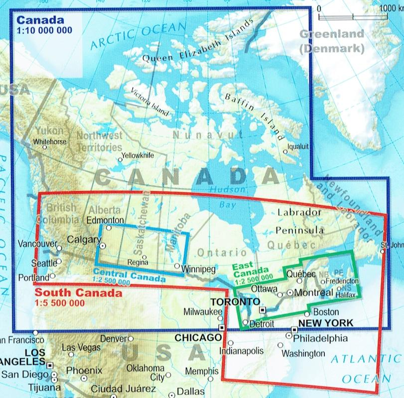 Road Map Of Canada.Maps Road Maps Atlases Canada Road Map