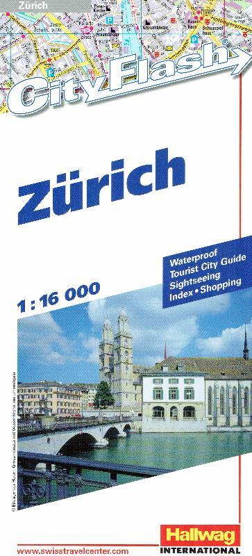 Maps - City maps, atlases - Zurich (City Flash Map)